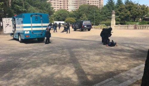 特型警備車 銃器対策部隊 愛知県警の画像